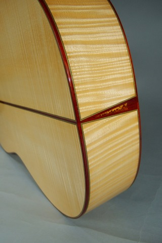 Maple Guitar Bottom