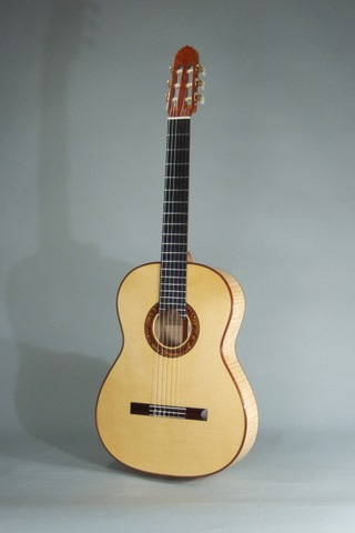 Maple guitar front