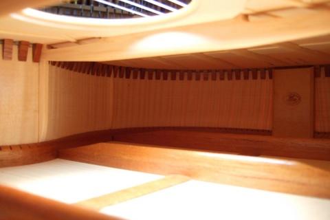 Guitar interior 2